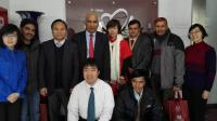 The financial minister of Nepal visited China Foundation for Poverty Alleviation