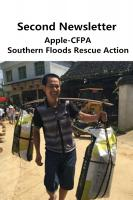 Second Briefing on Flood Relieve Actions in Southern China by Apple Inc.