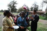 Former Ethiopian first lady partners with CFPA to promote the welfare of women and children in Ethiopia
