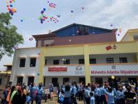 The Second Post-Disaster Reconstruction School Building Delivered by CFPA in Nepal