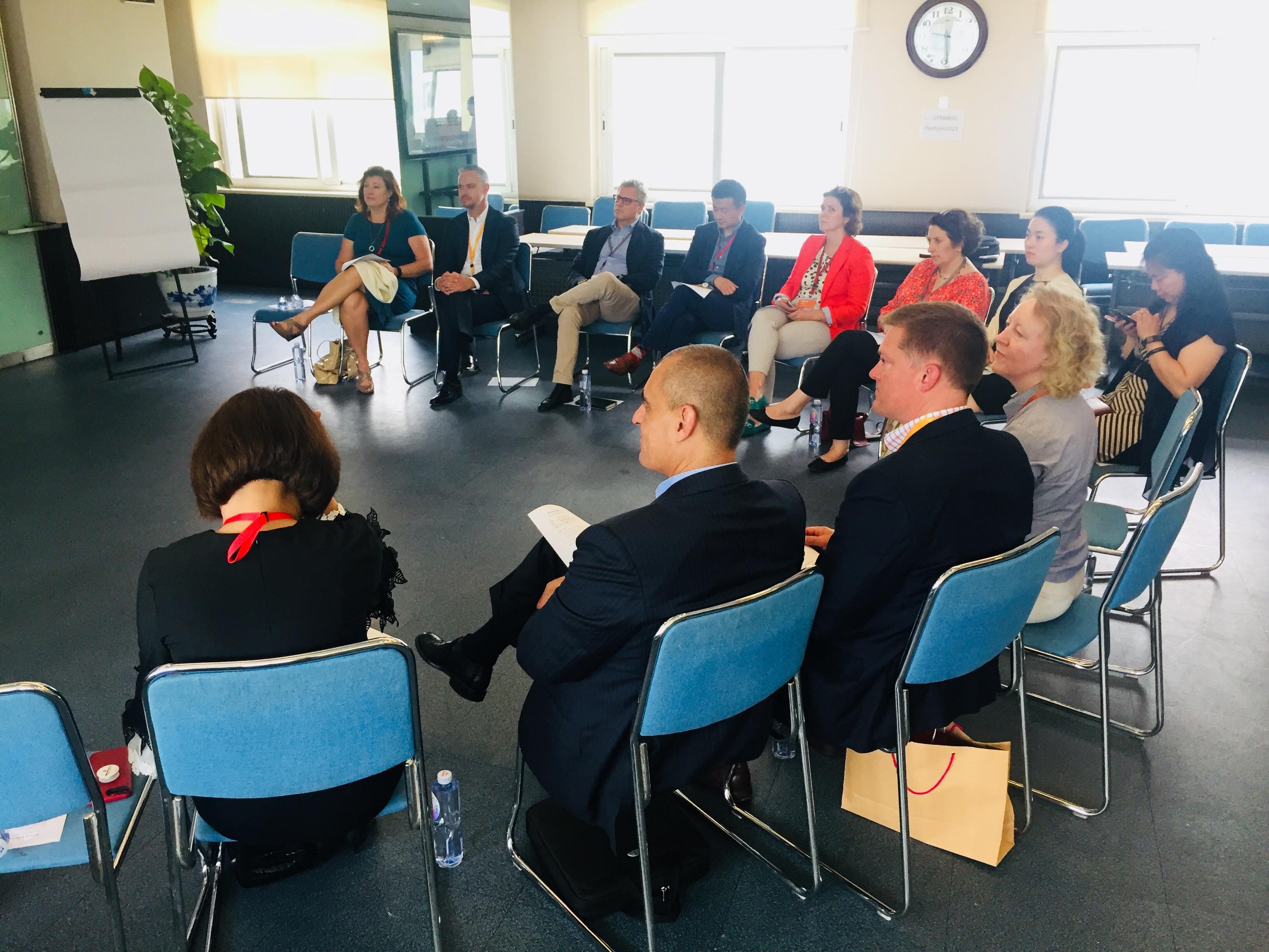 PwC Global Senior Partner Delegation Visited China